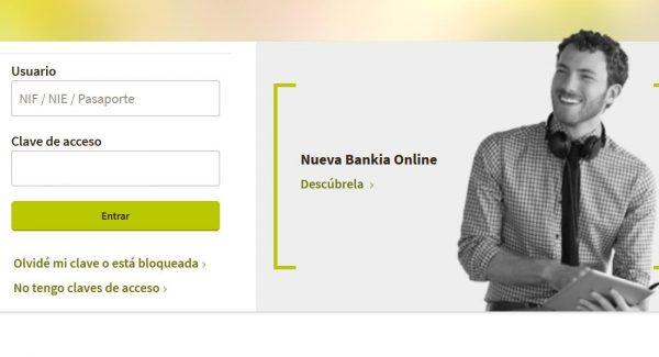 Io bankia accede desde aqu a la plataforma 2018 for Bankia online oficina internet