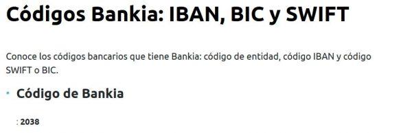 iban bankia