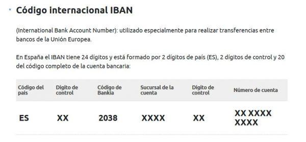 Iban bankia conoce adem s c digo swift y bic 2018 for Bankia internet oficina internet