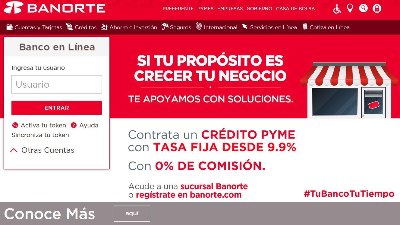 Banorte _ El Banco Fuerte de México