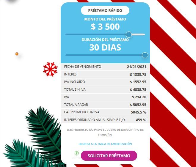 simulador moneyveo - Préstamos rápidos _ LendOn.mx
